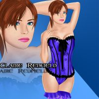 Claire Redfield  by DragonLord720