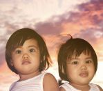 Tiongson Twins by hersley