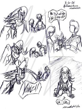 YGO-TMP--Cartoon Sketches by Kineil-Wicks
