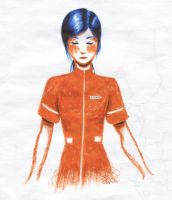 Two-Tone Chell by BronzetheSling