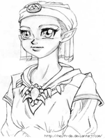 Little Princess Zelda by Neith-DA