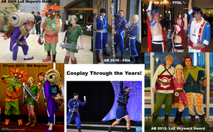 Cosplay Through the Years by Misakochan
