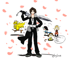 Final Fantasy VIII Fanart by Little-Yuri-kun