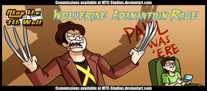 AT4W Classicard: Wolverine- Adamantium Rage by MTC-Studio