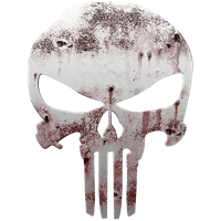 The Punisher Logo Icon by madrapper