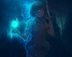Misaka Mikoto - Electric Ball by YugataKisu