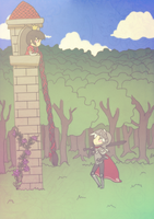 Princess and Knight by Temima