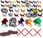 43 Adopts by LightningTheif