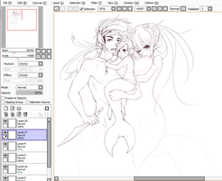 WIP couple /lavs by Nullifie
