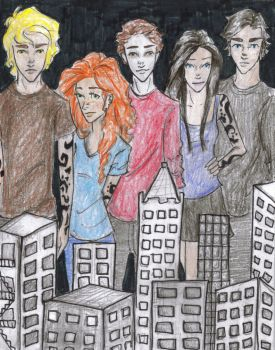 Mortal Instruments by dot-dashlee