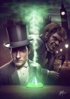 Dr Jekyll and Mr Hyde by MB-CG