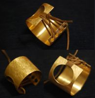 Brass cuff by grivla