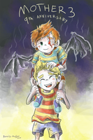 Mother 3 9th Anniversary by Kanis-Major