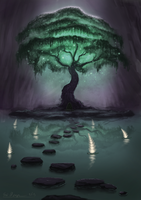 Tree of Spirits by DigitalCrest