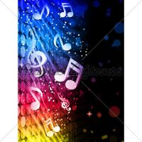 Party Abstract Colorful Waves by kingofvectors