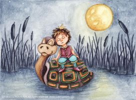 We'll Sleep on the- Ilona-S by childrensillustrator