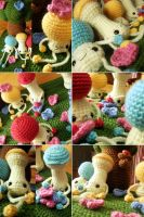 Happy Mushroom Forest5 by hellohappycrafts