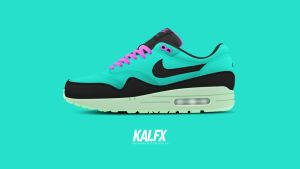 Nike Air Max 1 'South Beach' by BBoyKai91