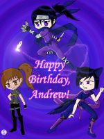Happy Birthday Andrew by EvilVixen05