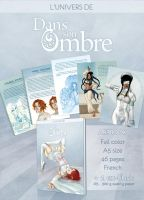 Artbook Dans son Ombre by Lowenael