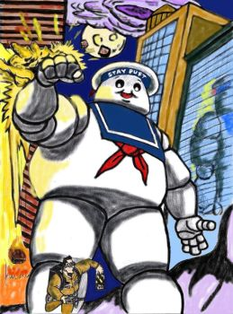 Stay Puft Marshmellow Man By Mikem23 by chicago-icee