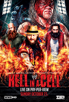 WWE - HELL IN A CELL 2013 POSTER by TheIronSkull