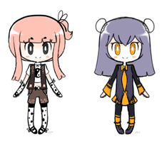 Female humanoid adoptables, set 1 by Shirope