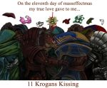 On the 11th day of Masseffectmas... by efleck