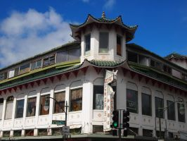 Chinese style building by uematsu77
