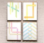 Geometric Cards in Seasons by happydappybits