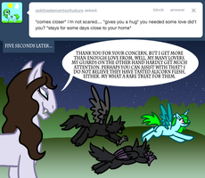 Ask Darren the Vampony GTFO by The-Clockwork-Crow