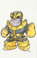 Thanos take 3 by AmberStoneArt