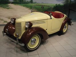 1939 American Bantam Model 60 Roadster by Aya-Wavedancer