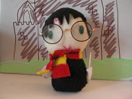Harry Potter Plushie by ninjakitty-17