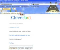Cleverbot refuses to answer by gorgonbreath