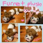 Pokemon FURRET plush pokedoll by SilkenCat