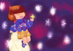 Frisk From Outertale by SashaMalinka