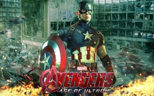 Avengers Age of Ultron: Captain America by superjabba425