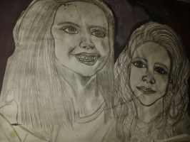 Twilight Renesmee Cullen young and old. by DeviantEvalewin