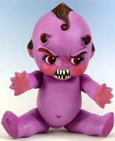 Evil Kewpie Doll by Undead-Art
