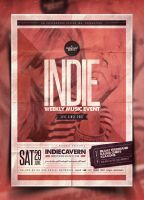 Indie Poster Template Vol. 18 by IndieGround