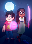 Steven and Connie by VicTycoon