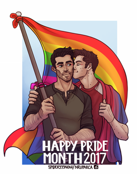 Sterek Pride by spider999now