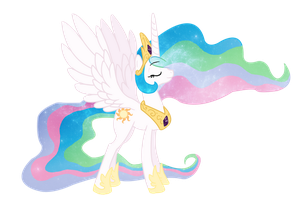 Princess Celestia by SlopMonster