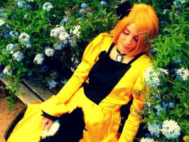 My Rin Kagamine Cosplay Servant of evil by Ciel-Kagami