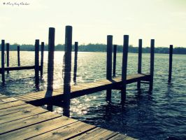 empty dock by superfruitfly