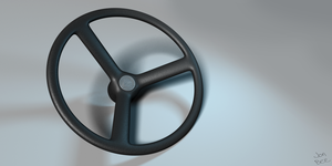 Speedmodel - Steering Wheel by PerpetualStudios