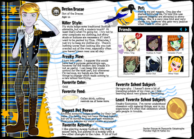 Monster High OC: Declan Dracae by MsChamomile