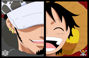 Law and Luffy - Punk Hazard by MrPowers20