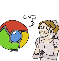 oh, chrome by facekickery